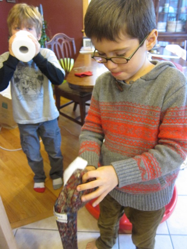 Upcycled Craft: Tie Snake