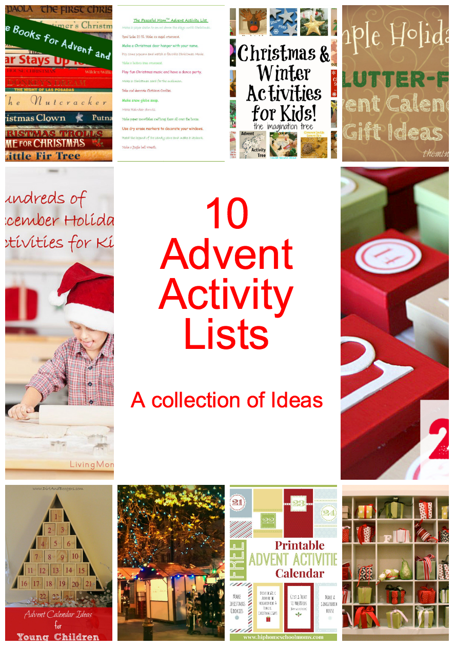 Ideas For Advent Calendar Netmums : Awesome diy advent calendar ideas days of