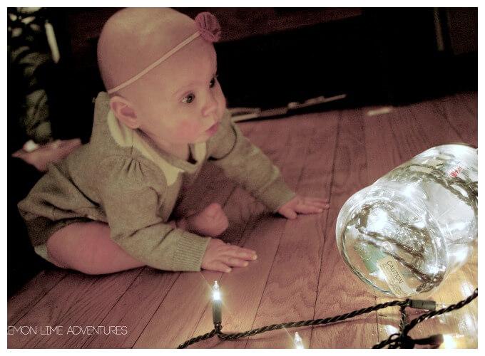 DIY Baby Light Play