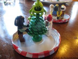 Legoman Snowglobe