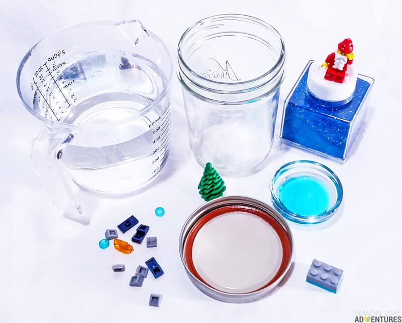 Legoman Snow Globes
