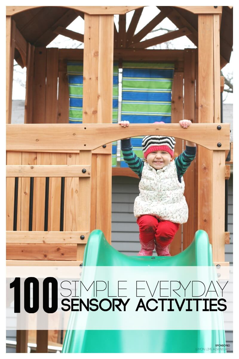 100 Simple Everyday Sensory Activities for Kids