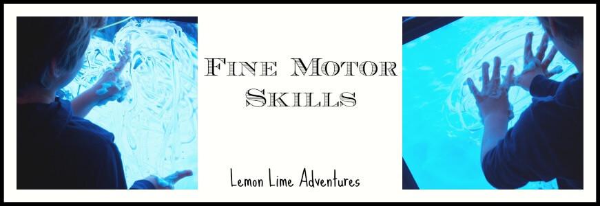 Shaving Cream Fine Motor Skills
