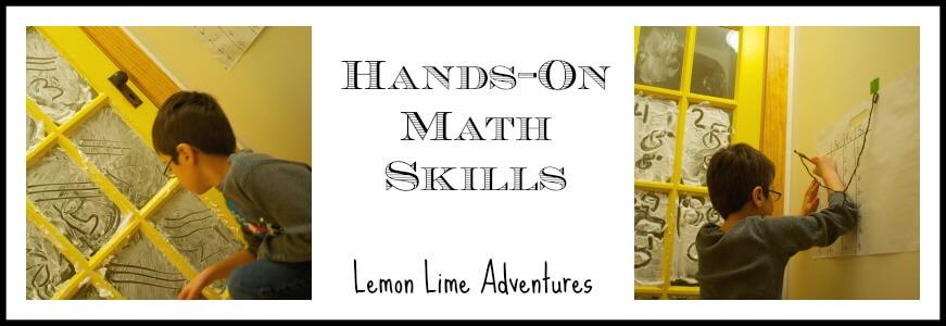 Shaving Cream Hands on Math