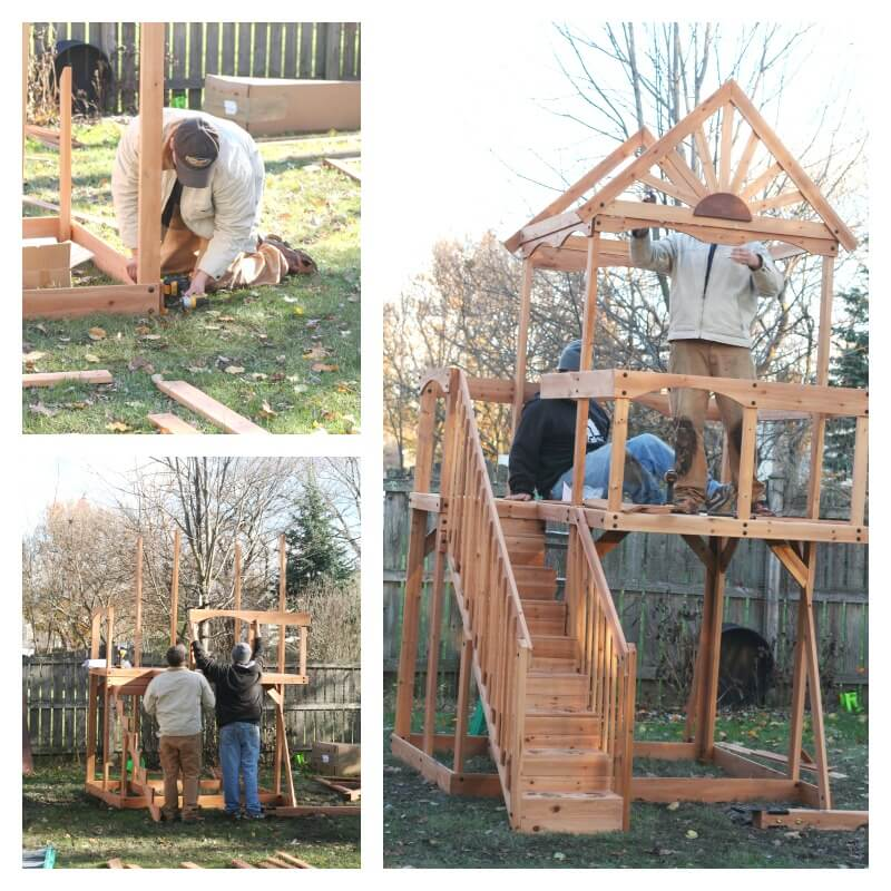 Oceanview Play Set Installation