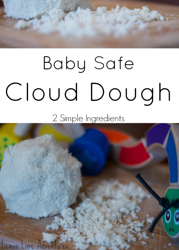 Baby Safe Cloud Dough- Organic- Gluten Free- A Must Try! Simple!