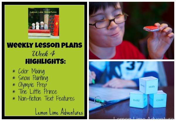 Homeschool Lesson Plans