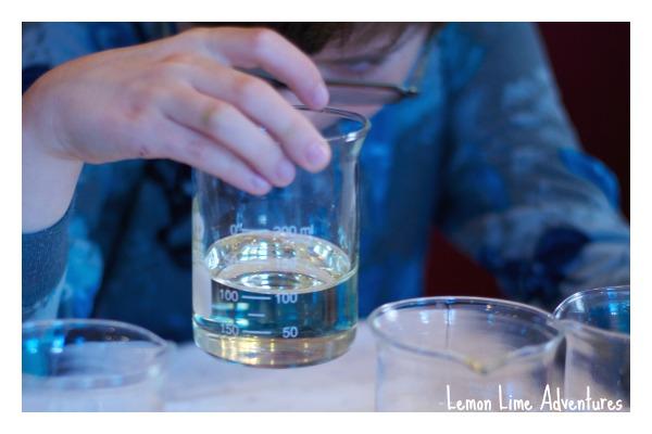 Science Experiment: observe liquids  Comparing viscosity of liquids.