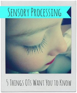 5 Myths About Sensory Processing