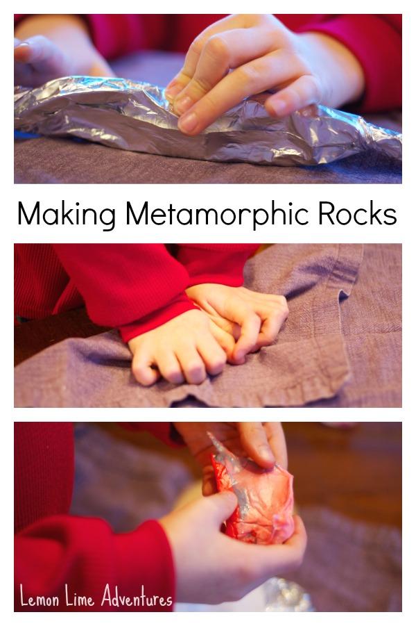 Metamorphic Rocks with Starburst