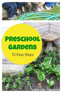 Preschool Gardens: 10 Easy Steps