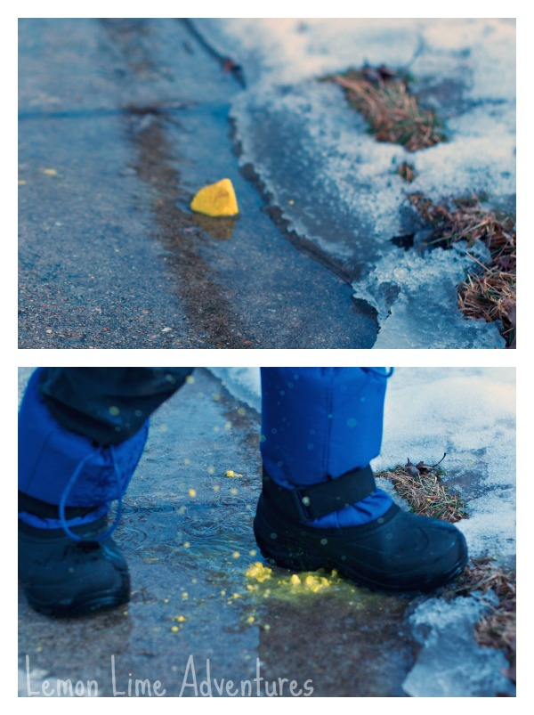 Sidewalk Chalk Stomp