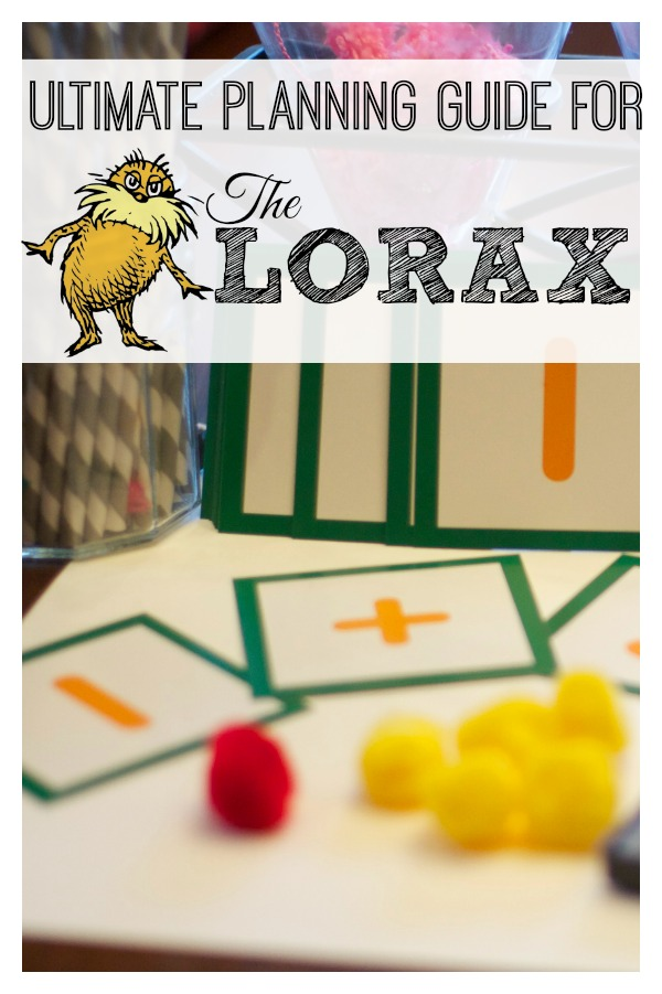 Worksheet The Lorax Lesson Plans the lorax a guide to activities and lessons