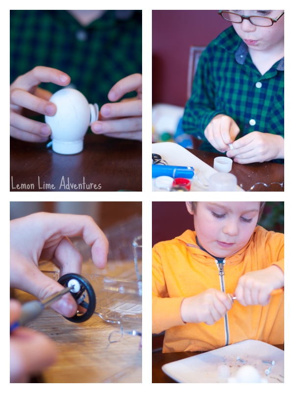 Creating with Loose Parts Eggs
