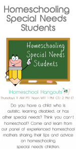 Homeschooling A Child With Special Needs