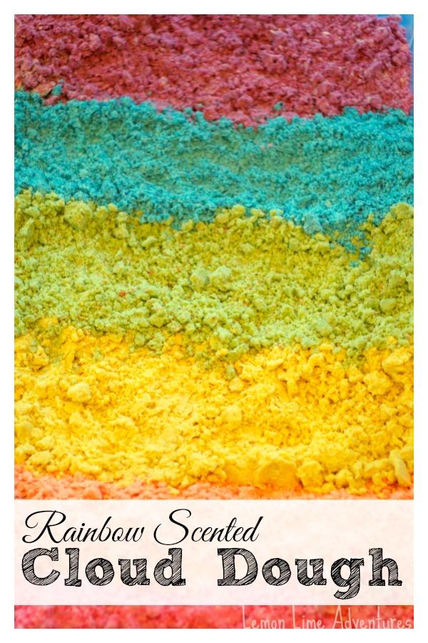 Rainbow Scented Cloud Dough