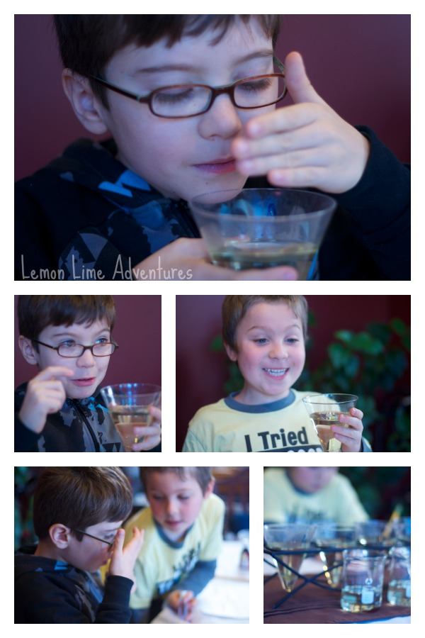 Science Experiment with Scents