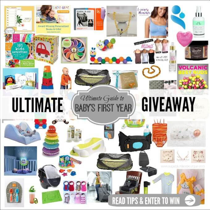 ULTIMATE GIVEAWAY BABYS FIRST YEAR