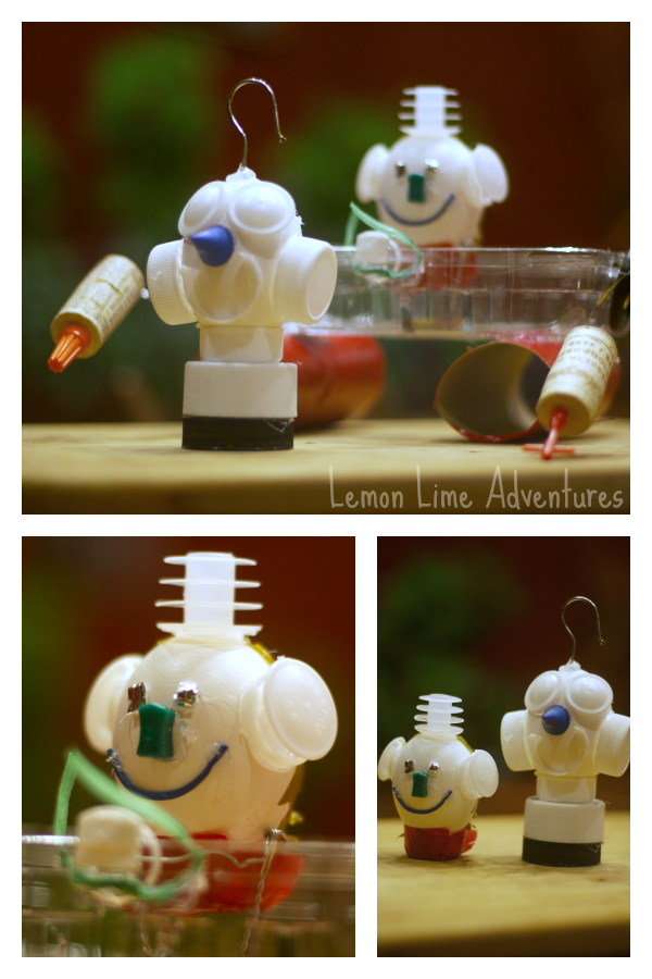 Creating with Loose Parts: Cool egg bots