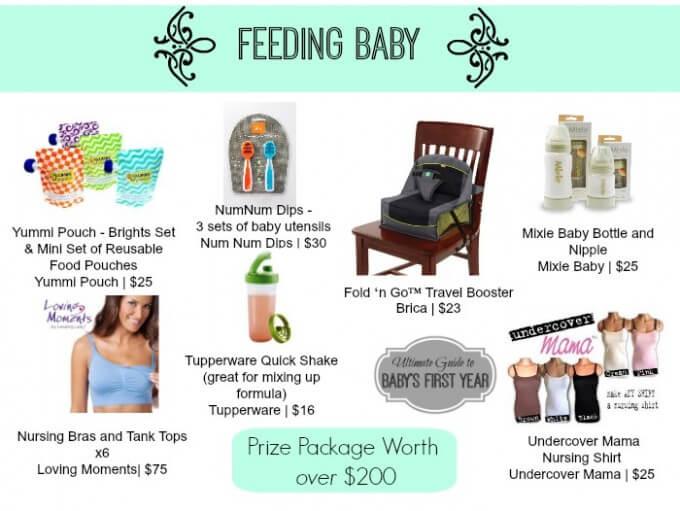 Feeding Baby Giveaway