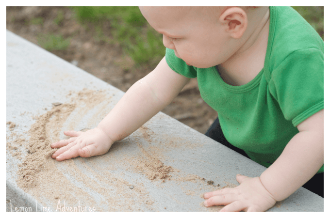 Fine Motor Development with Sand Play