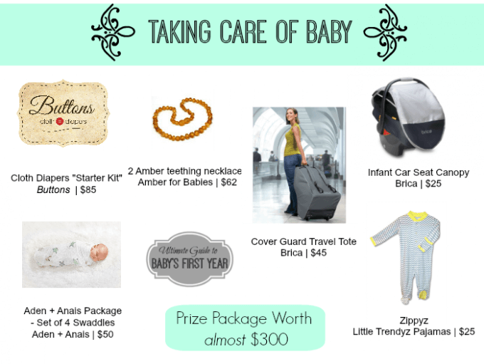 taking care of baby giveaway