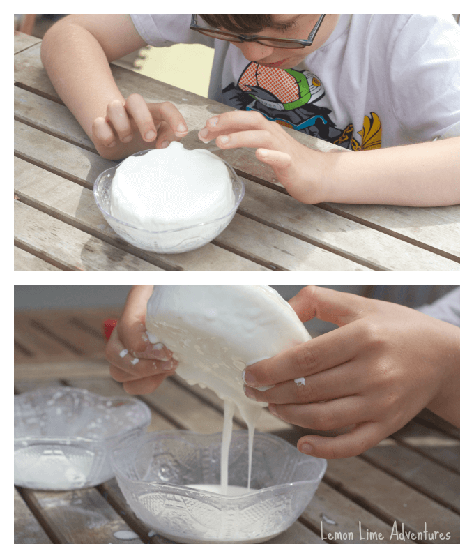 Ice Cream Dough with Cornstarch