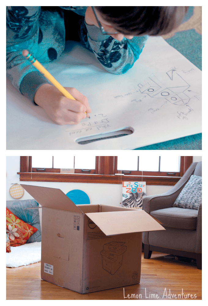 Plans for Rocket Calm Down Box