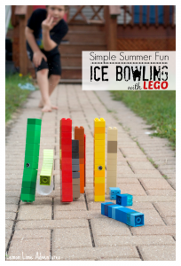 Simple Summer Fun | Ice Bowling with LEGO