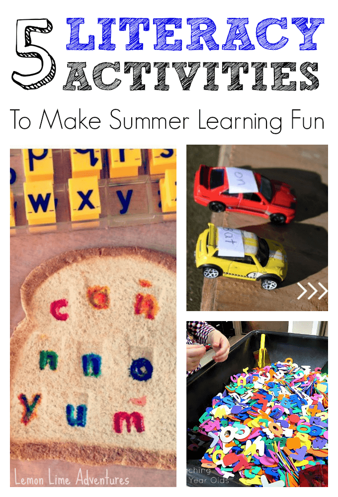 summer literacy activity