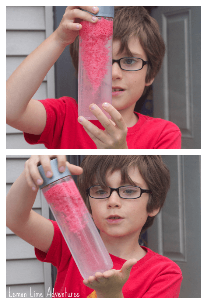 Moon Dough Sensory Bottles