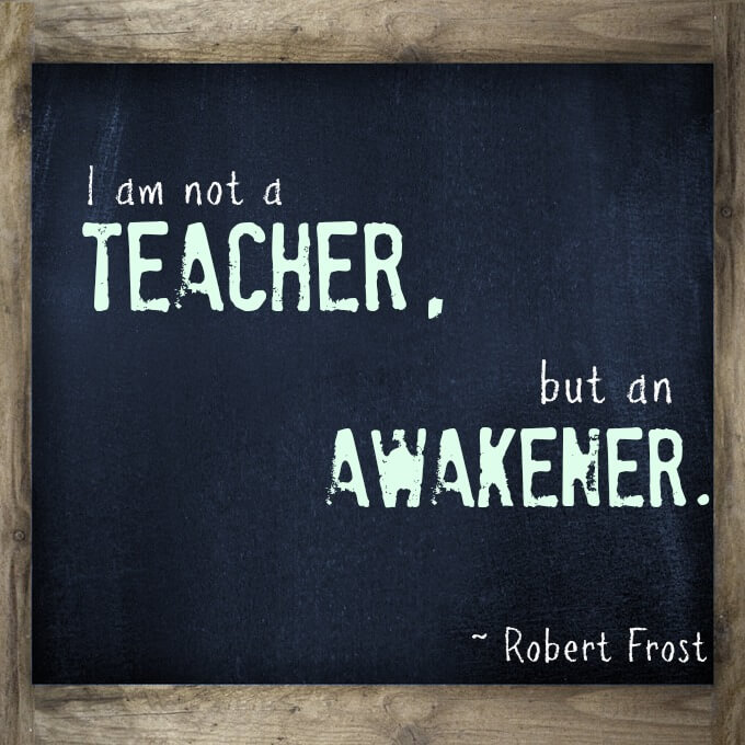 Inspirational Teaching Quotes Impressive 10 Inspirational Quotes For Teachers