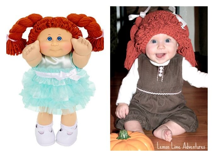 diy cabbage patch doll costume for baby - How To Make A Doll Costume For Halloween