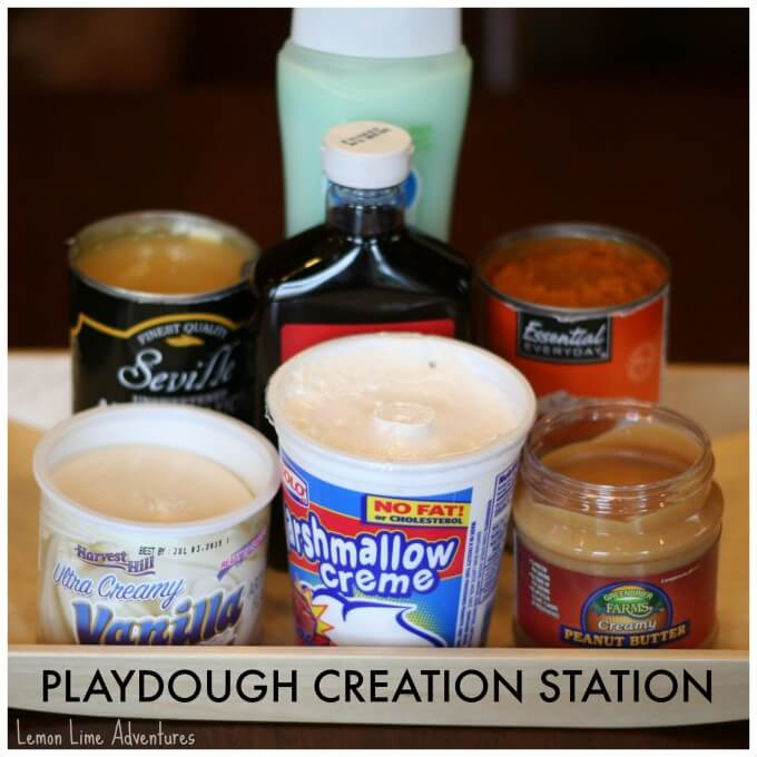 Playdough Creation Station