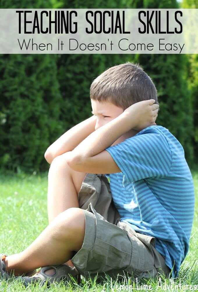 Teaching Social Skills to children who lack social understanding