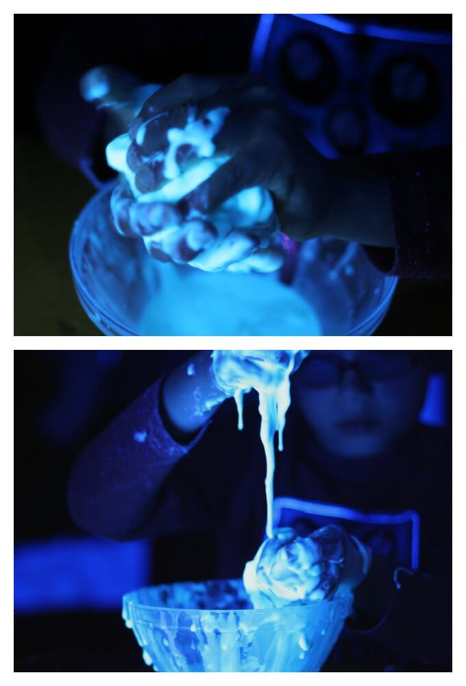 Experimenting with Glowing Doughs
