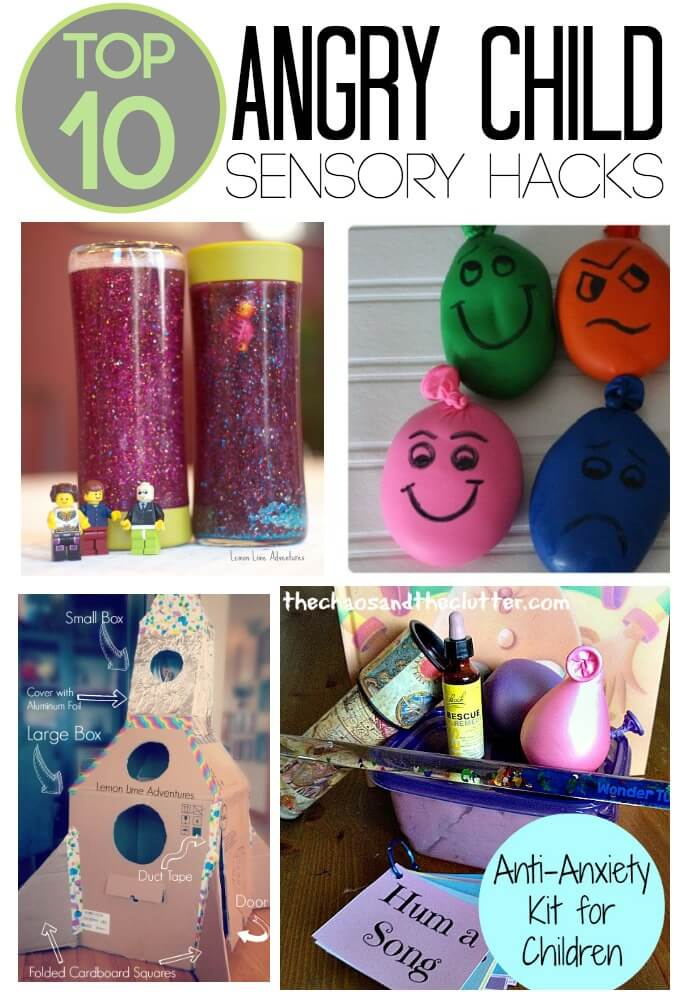 Sensory Toys Autism : Sensory hacks to calm an angry child