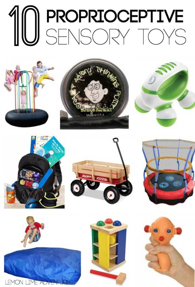 10 proprioceptive sensory processing gifts