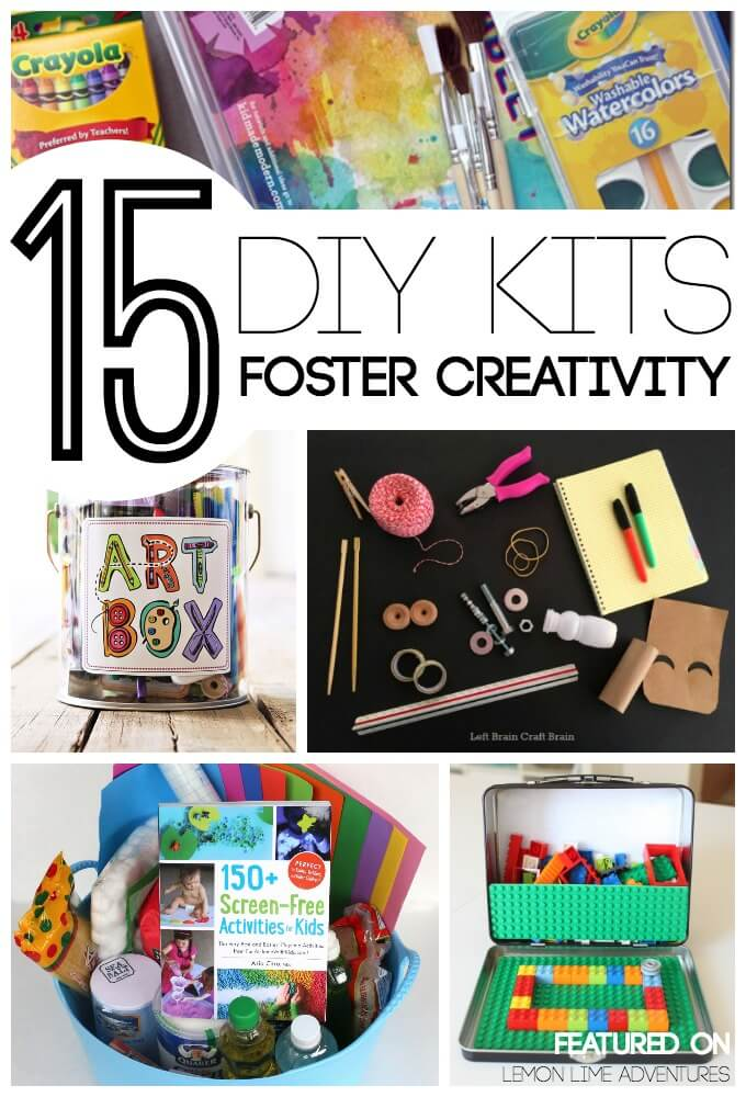 DIY Gift Kits for Kids Foster Creativity