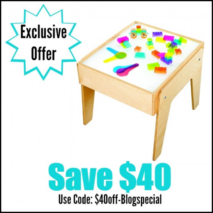 Light Table Coupon