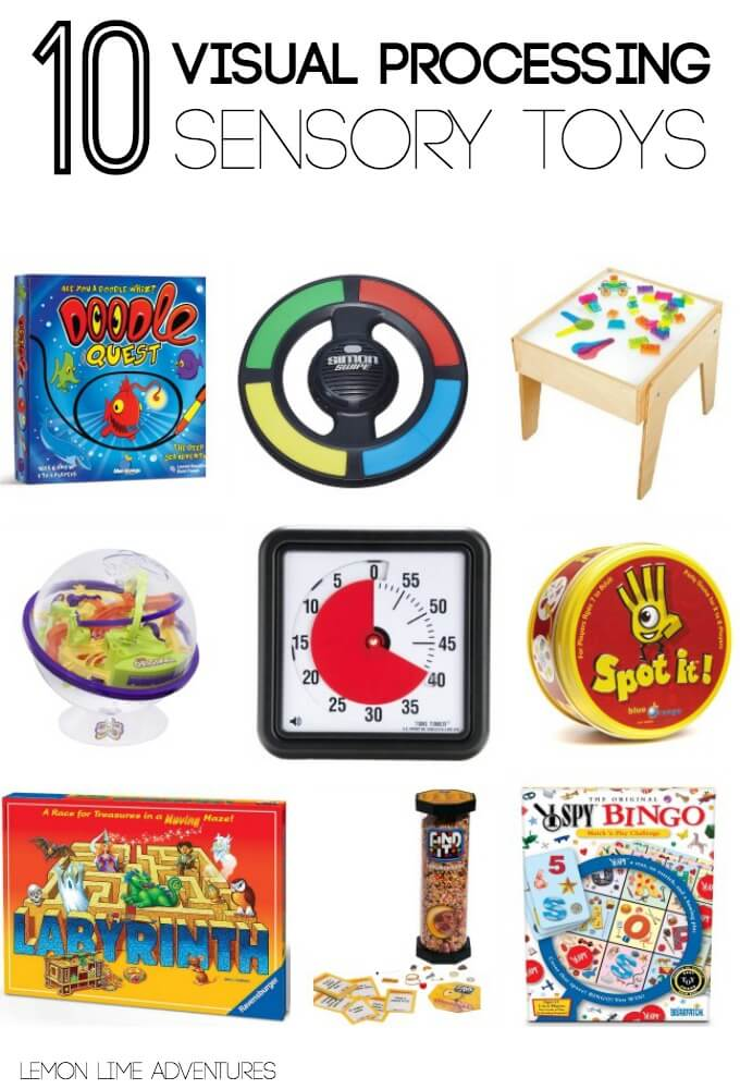 Visual Processing Sensory Toys