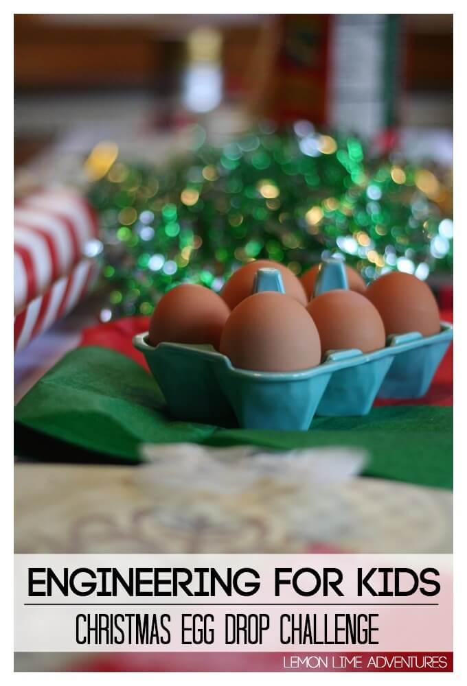 Christmas Egg Drop Challenge