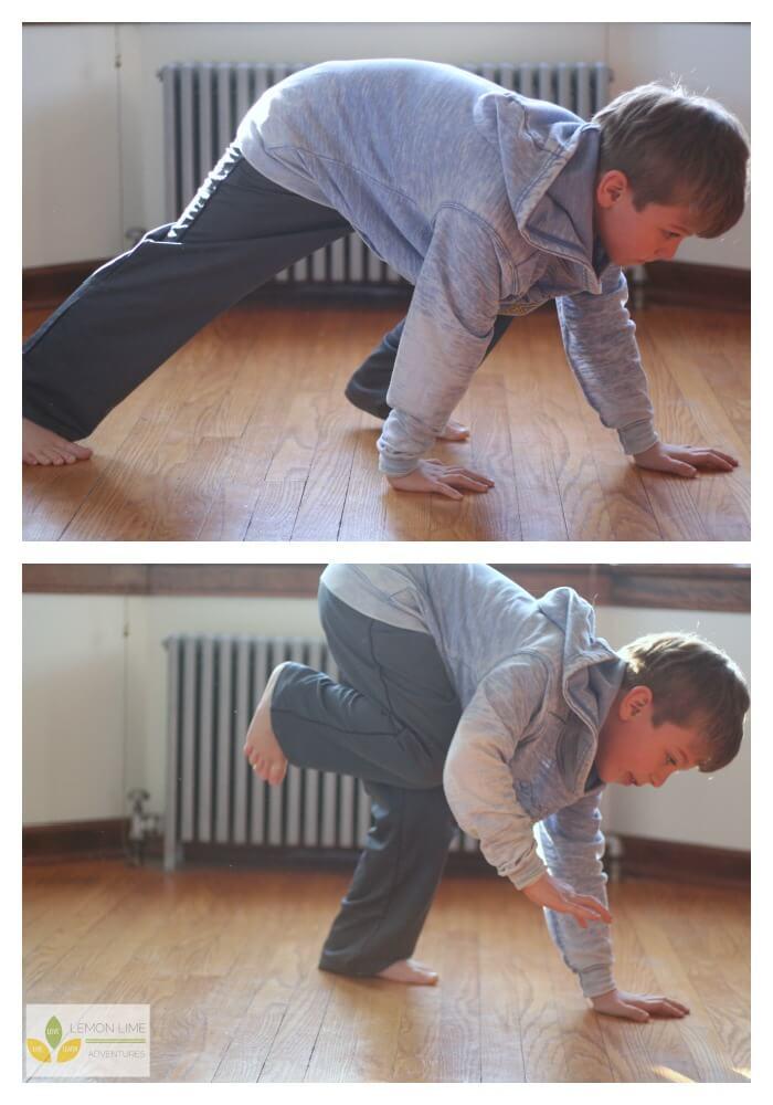 Bear Crawl Animal Exercises