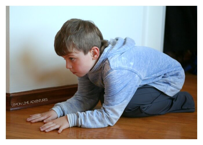 Turtle Crawl Animal Exercises