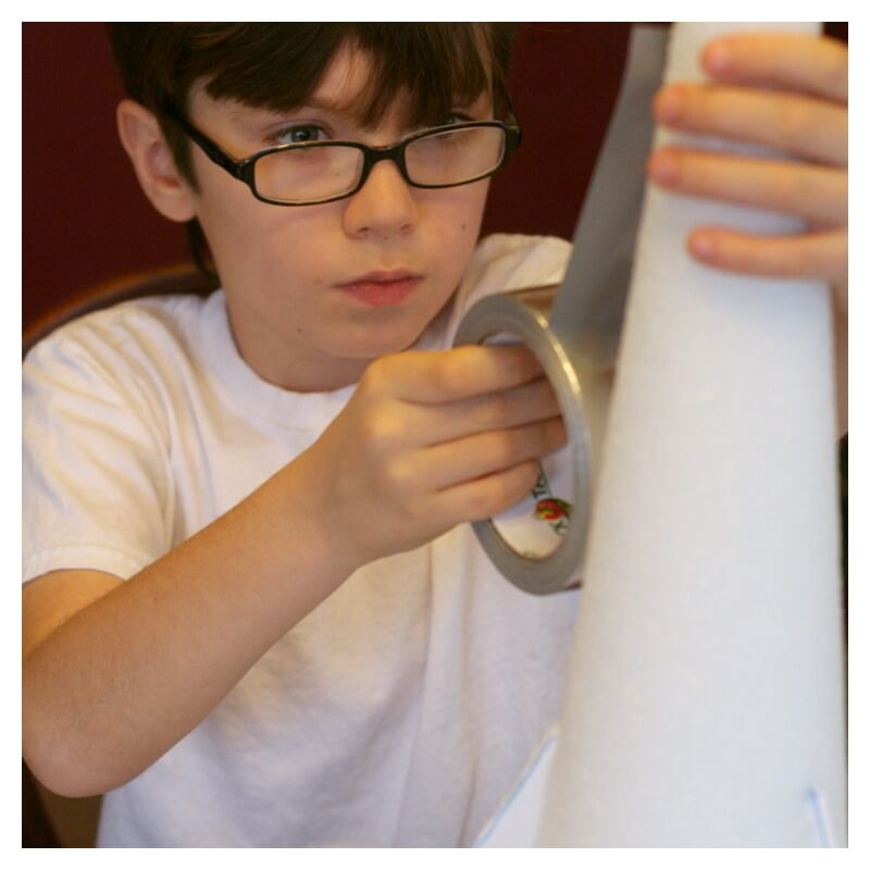 Creating a Baking Soda Rocket Experiment