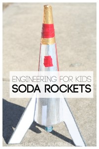 Engineering for Kids | DIY Soda Rockets