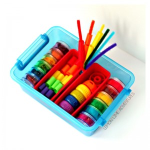 Toddler 4-in-1 Rainbow Busy Box