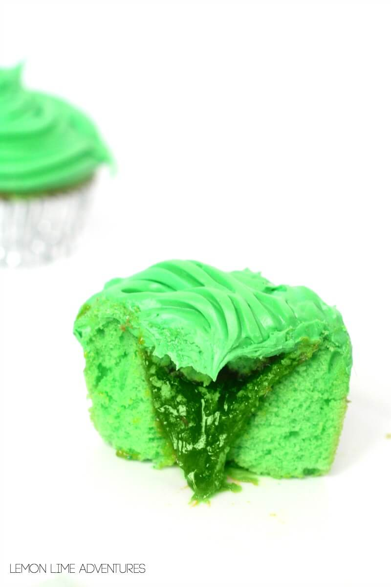 Awesome Slime Cupcakes