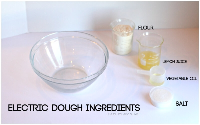 Electric Dough Ingredients