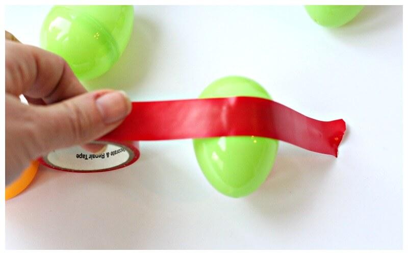 Washi Tape Easter Egg Ideas